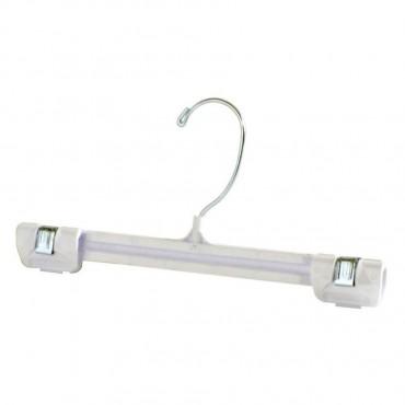 """12"""" Plastic Hook Bottom Hanger Gripp-On HAN-1002"""