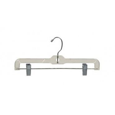 Clear Bottom Hanger w/ Clips