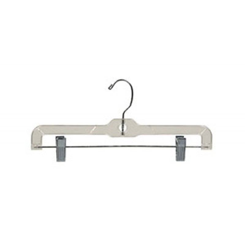 Clear Bottom Hanger w/ Clips