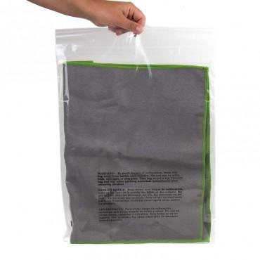 "Self Seal Warning Bag10x15"" 3LW w/ Adhesive Seal"