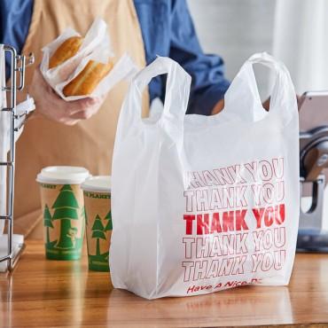 T-shirt Bag 10x5x19 THANK YOU