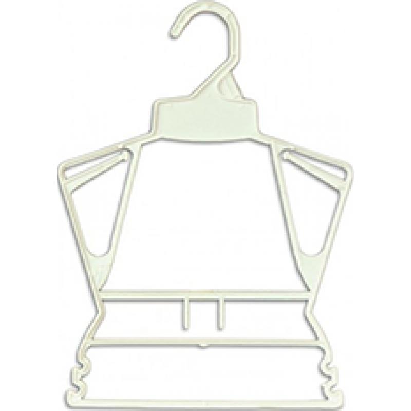 """10"""" Wide 81/2 Long Frame Hanger Kids Hanger HAN-951"""