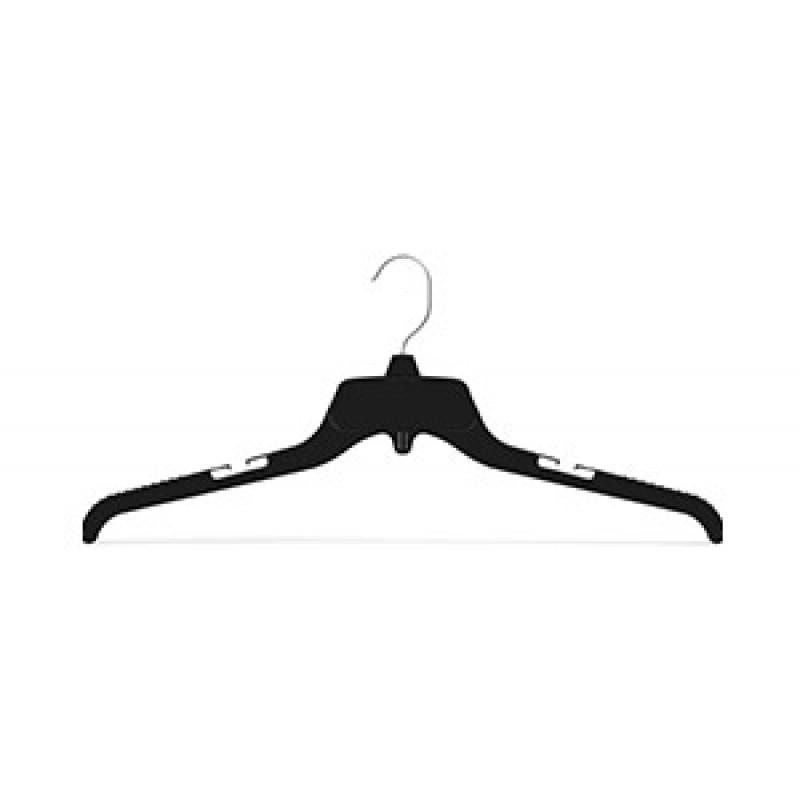Black Top Hanger w/ Metal Hook